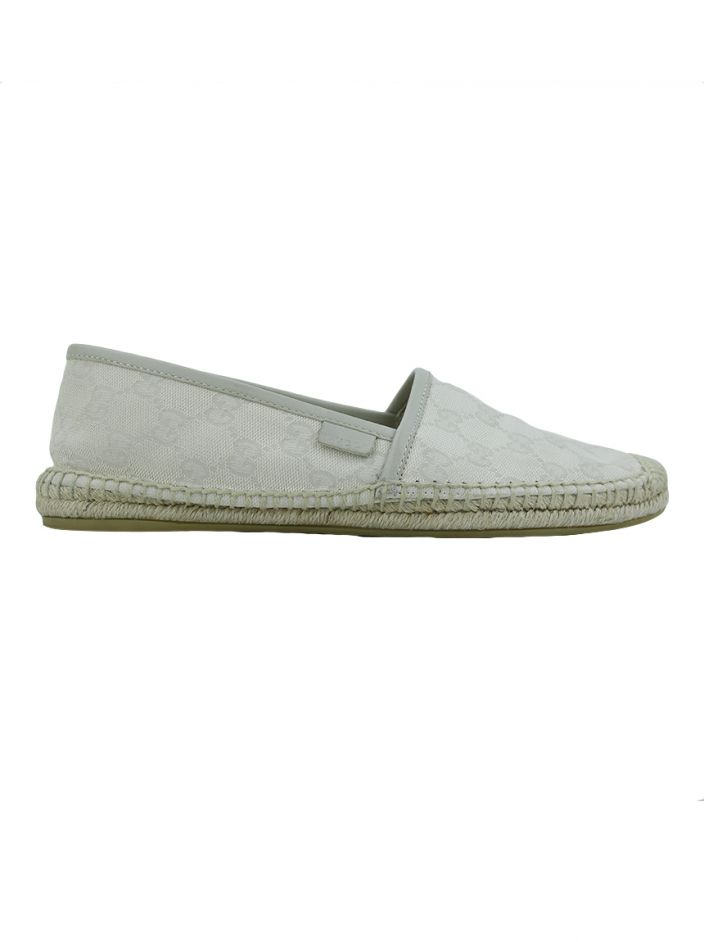 Espadrille Gucci GG Canvas Off White