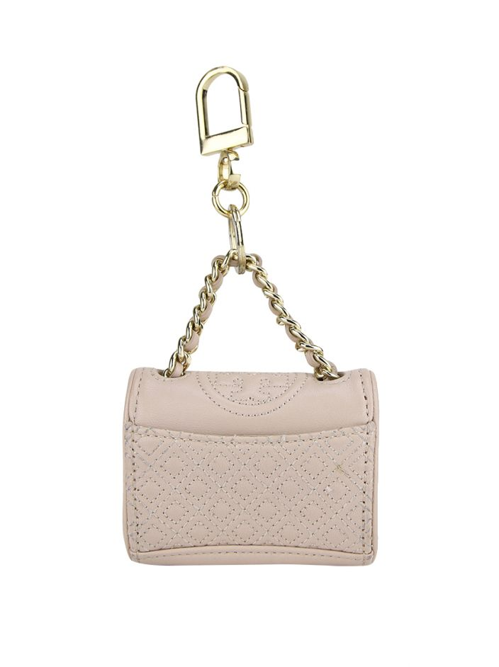 Chaveiro Tory Burch Fleming Rosa