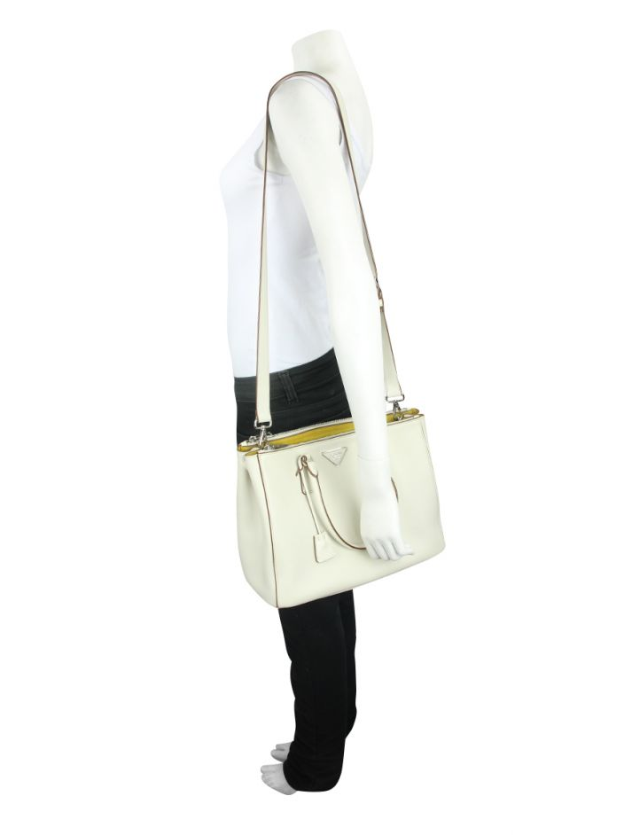 Bolsa Prada Galleria Off White