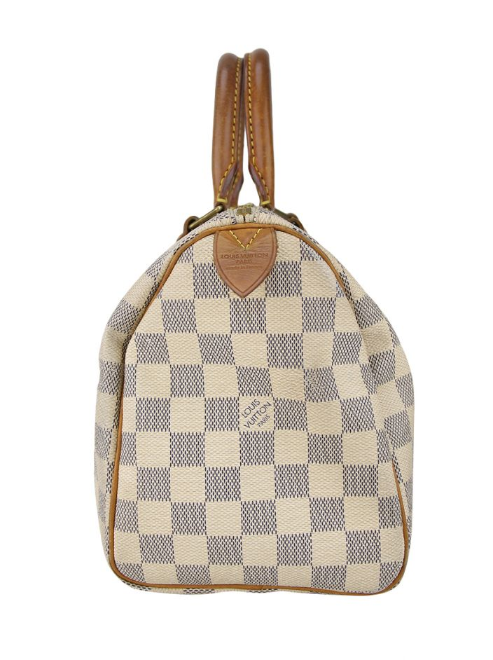 Louis Vuitton Speedy 25 Damier Azur