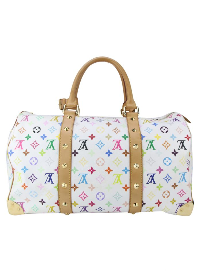 Mala Louis Vuitton Murakami Multicolore Keepall 45