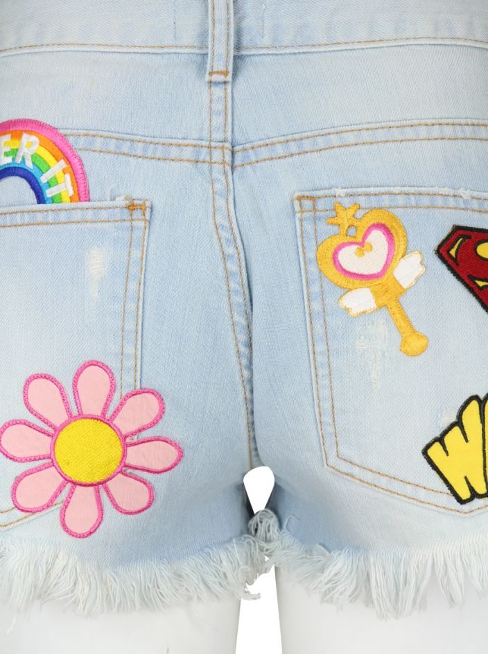 Shorts N.Y.B.D Patch Mix Jeans