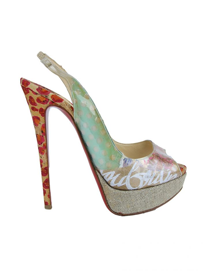 Peep Toe Christian Louboutin Winter Trash