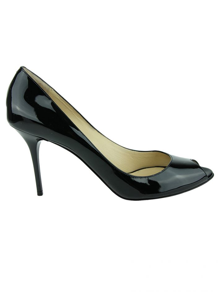 Peep Toe Jimmy Choo Evelyn Verniz