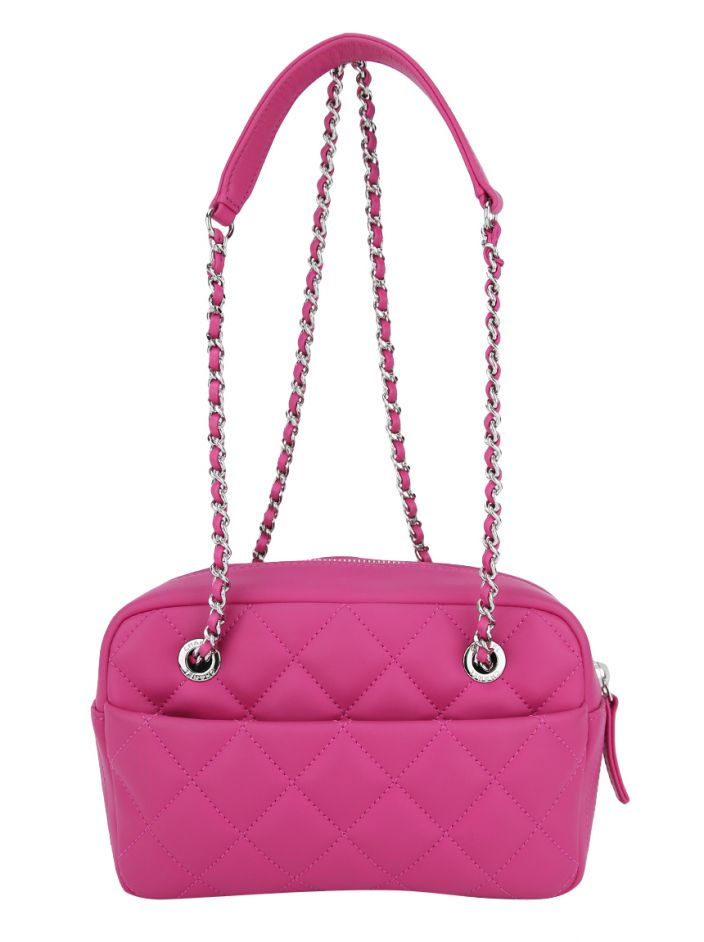 Bolsa Chanel Rubber Camera Case Pink