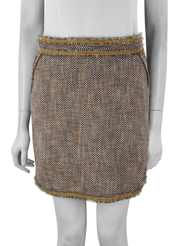 Saia Red Valentino Tweed Tricolor