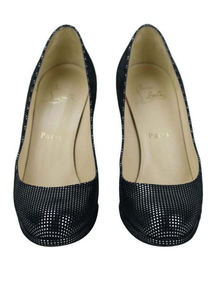Sapato Christian Louboutin New Simple Bicolor