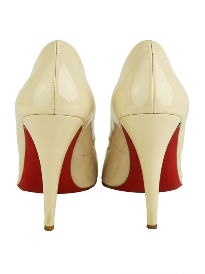 Sapato Christian Louboutin Particule Nude