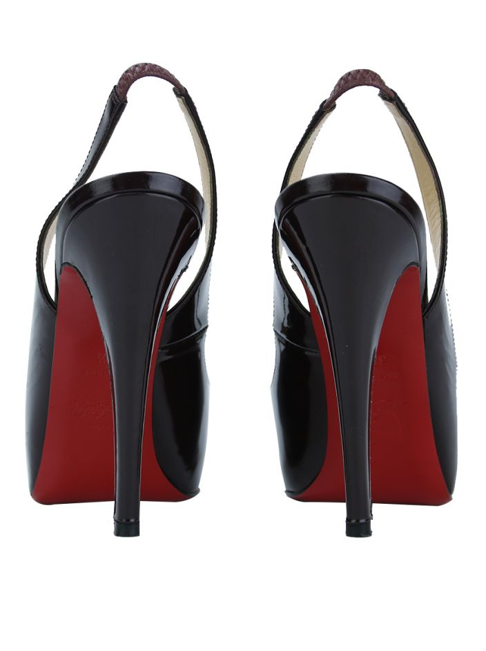Sapato Christian Louboutin Private Number Vinho
