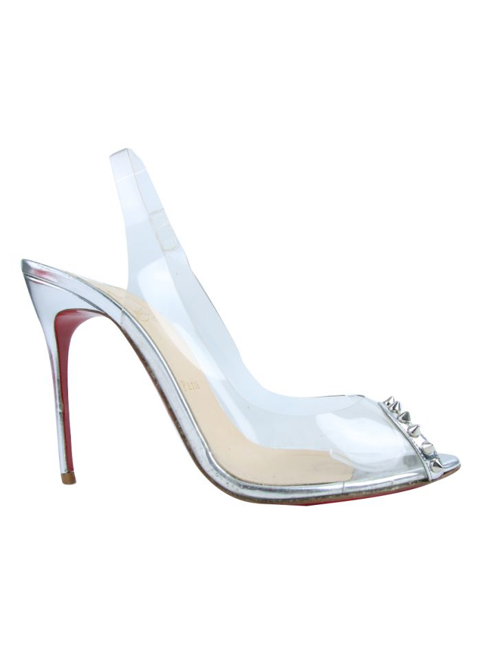Sapato Christian Louboutin Ring My Toe Transparente