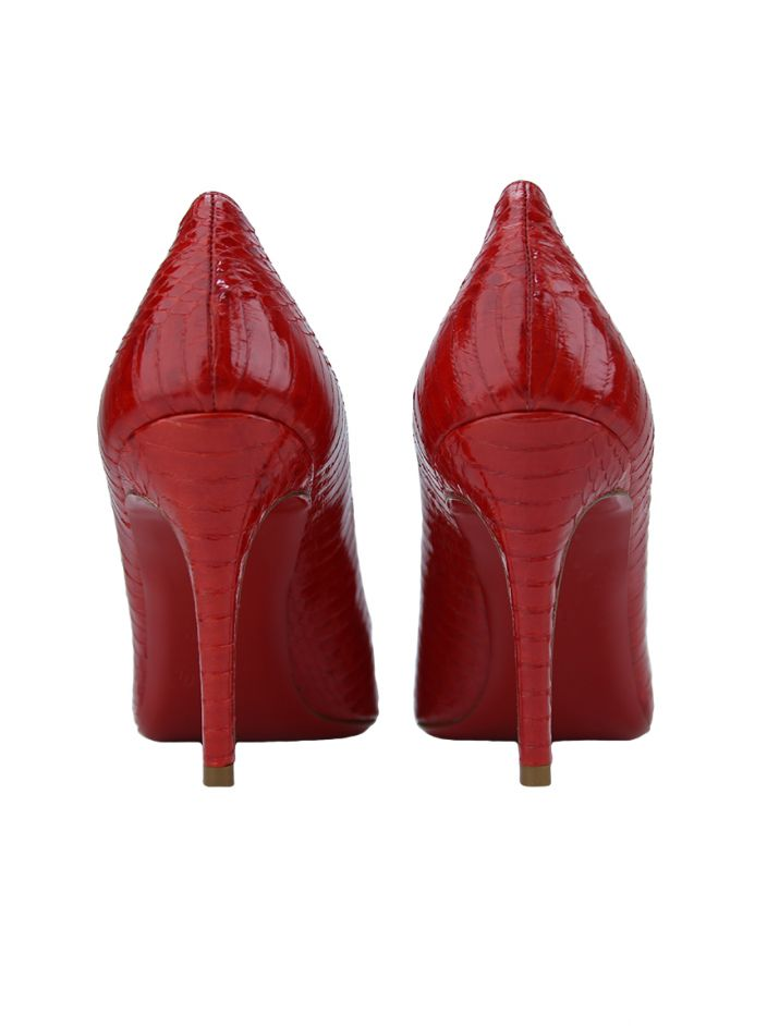 Sapato Christian Louboutin Simple Pump Python