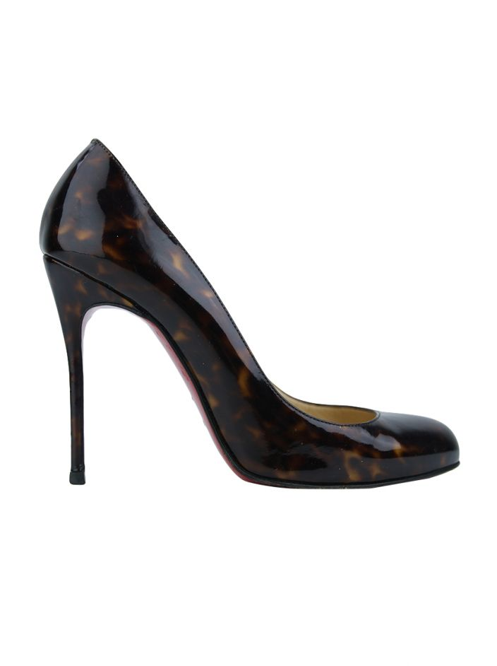 Sapato Christian Louboutin Simple Pump Tortoise