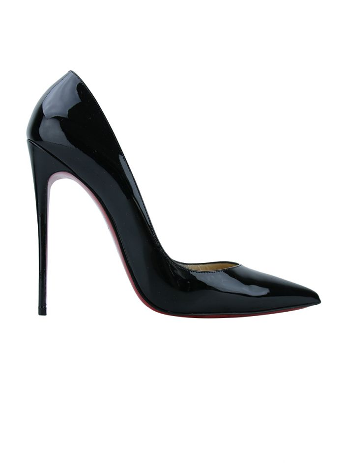 Scarpin Christian Louboutin So Kate Verniz Preto