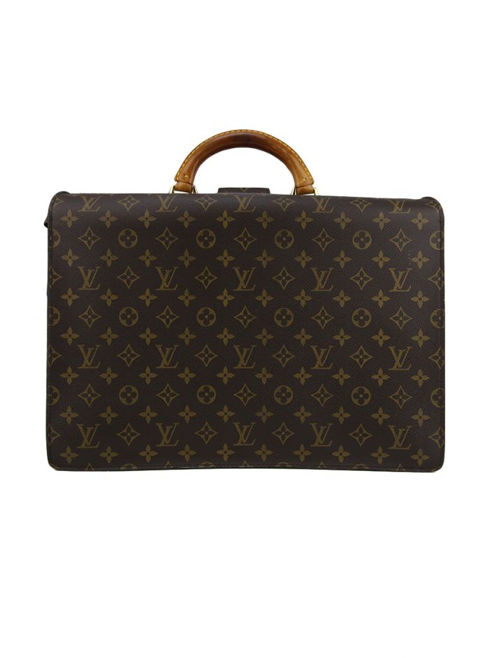 Pasta Louis Vuitton Serviette Fermoir Briefcase Monograma