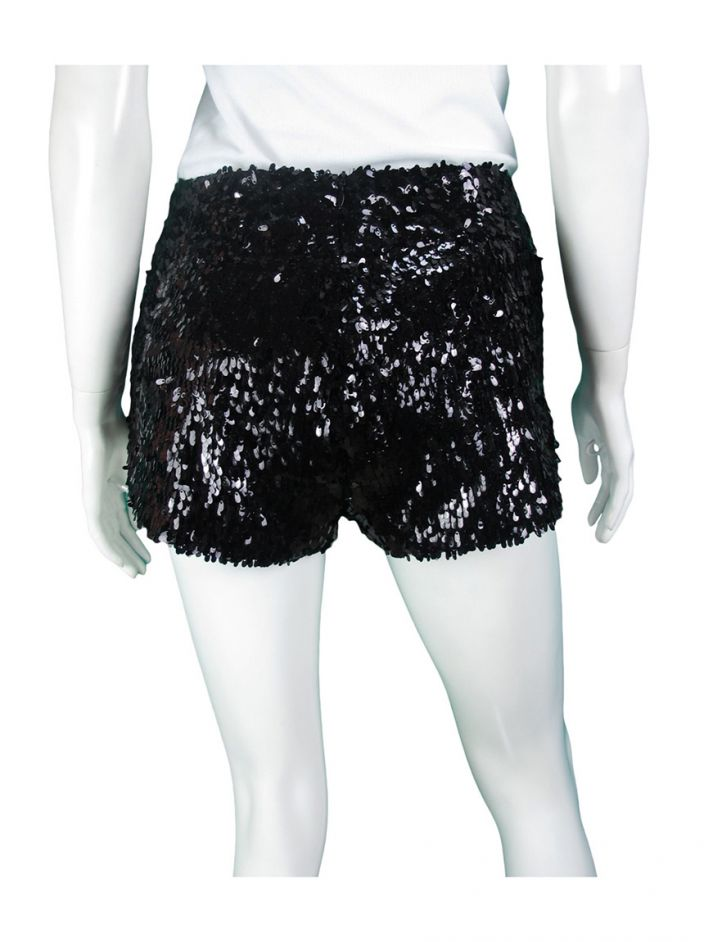Shorts Daslu Bordado Preto
