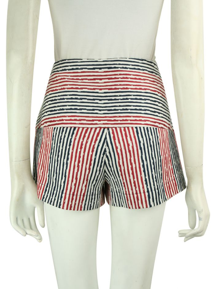 Shorts Mixed Tecido Listrado