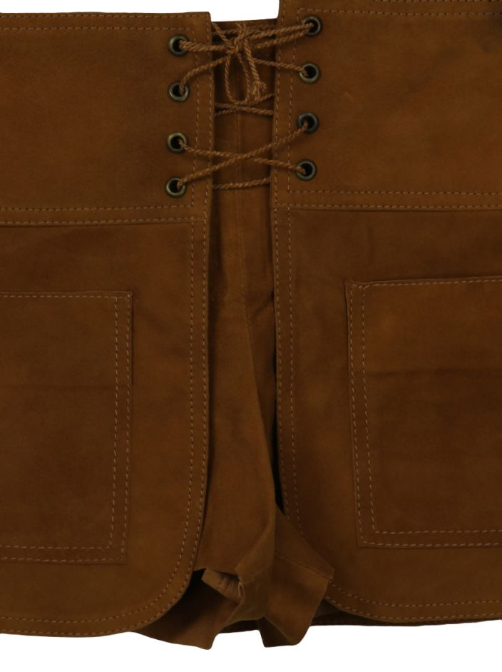 Shorts Talie NK Suede Caramelo