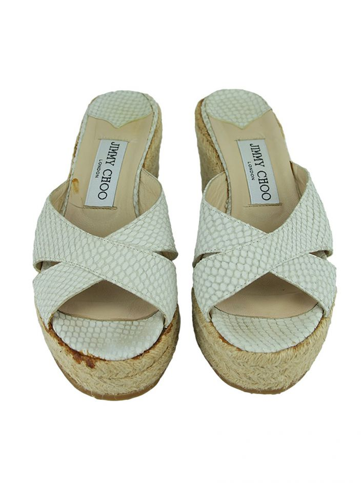 Tamanco Jimmy Choo Sisal