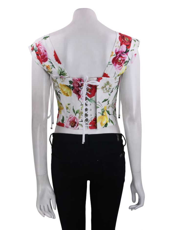 Top Dolce & Gabbana Lace Up Floral