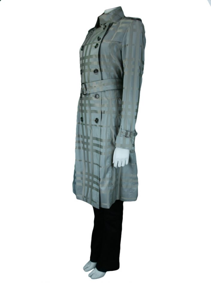 Trench Coat Burberry Impermeável Estampado