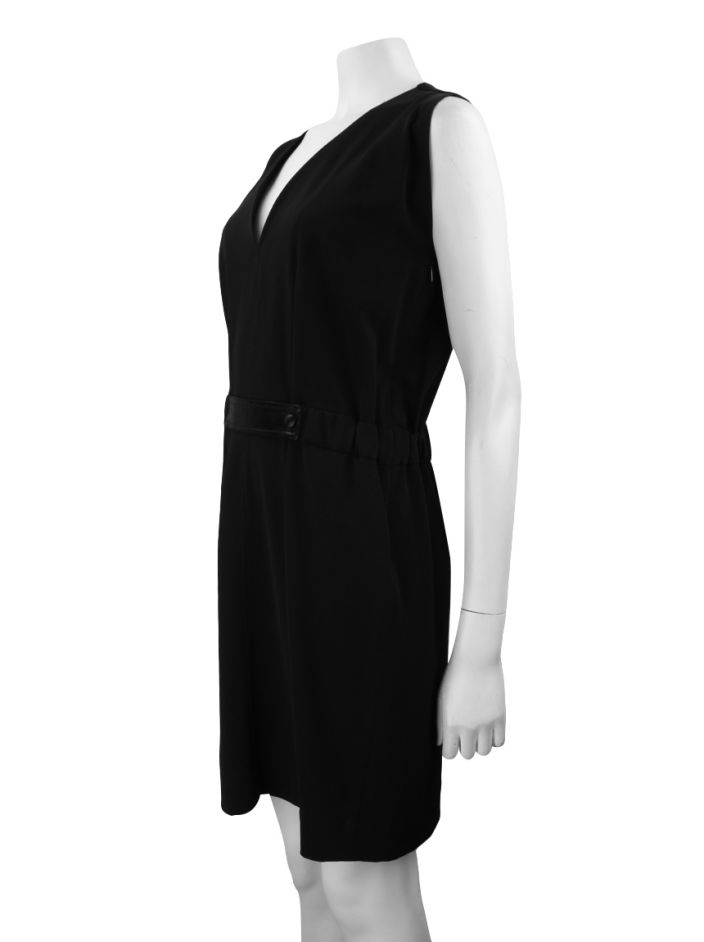 Vestido Balenciaga Black Dress  Preto