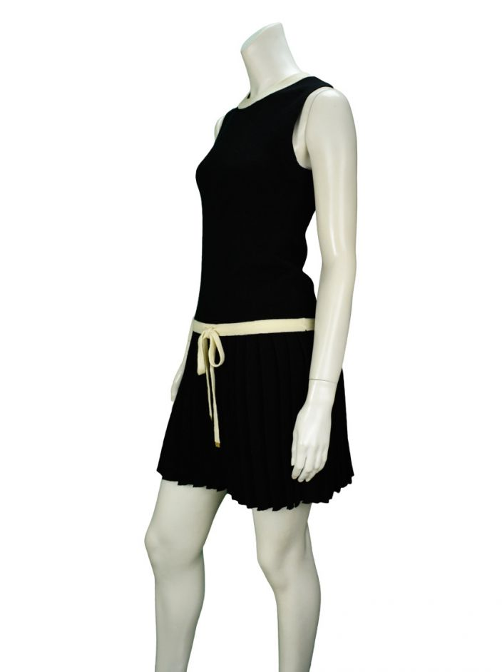 Vestido Juicy Couture Preto Lã