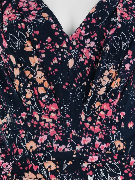 Vestido Juicy Couture Decote V Floral