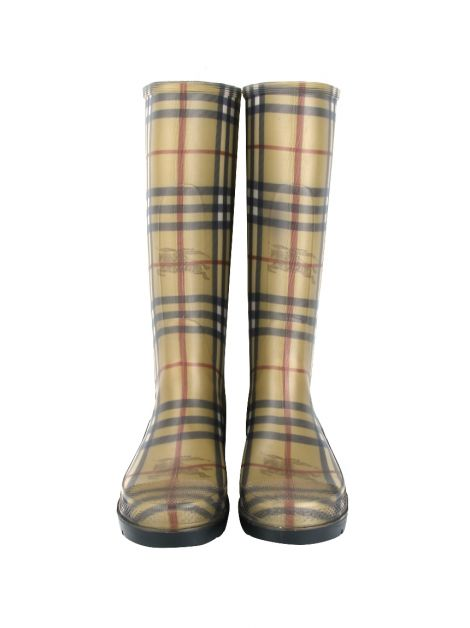 Galocha Burberry Check Caramelo