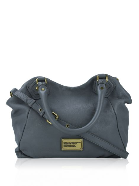 Bolsa Marc By Marc Jacobs Couro Cinza