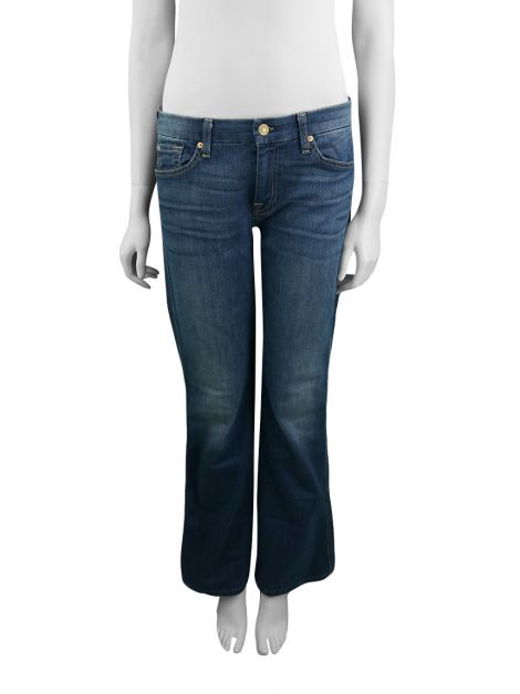 Calça Seven For All Mankind Short Inseam A Pocket
