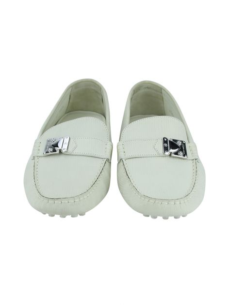 Mocassim Louis Vuitton Couro Off-White