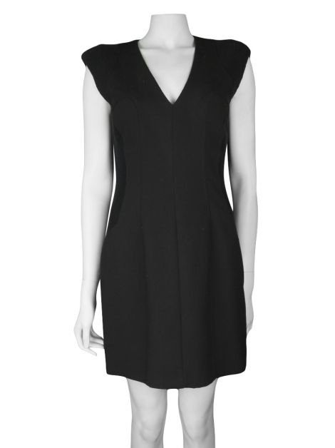 Vestido French Connection Acinturado Preto
