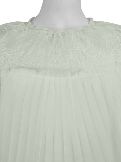 Blusa Christian Dior Renda Off-White