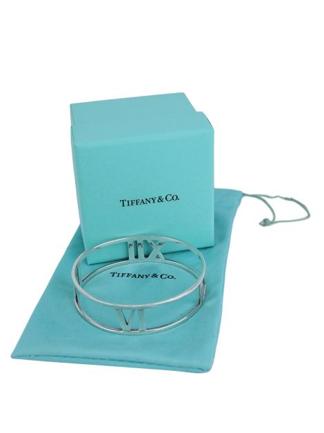 Bracelete Tiffany & Co Open Hinged Prata