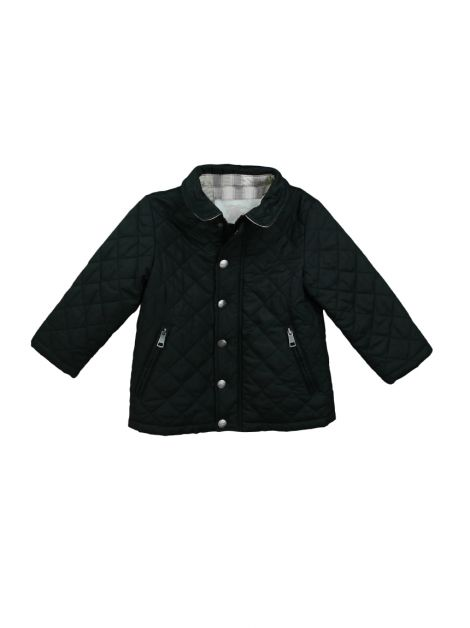 Casaco Burberry Children Nylon Preto Infantil