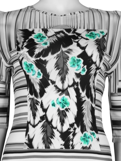 Blusa Peter Pilotto Estampa Listras