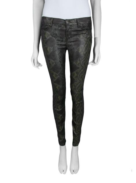 Calça All Saints Spitalfields Python Skinny
