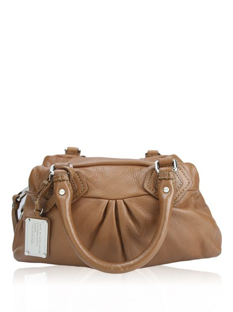 Bolsa Marc By Marc Jacobs Couro Caramelo
