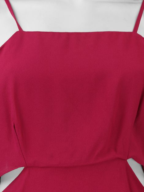 Blusa Lilly Sarti Recortes Pink