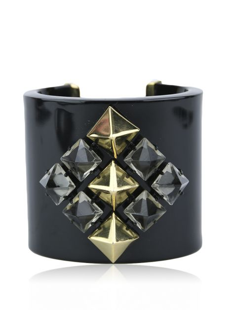 Pulseira Juicy Couture Studs Preto