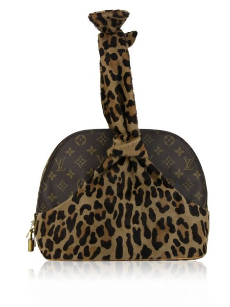 Bolsa Louis Vuitton 1996 Centenaire Alma Bag Animal Print