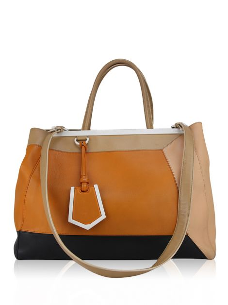Bolsa Fendi 2Jours Colorblock