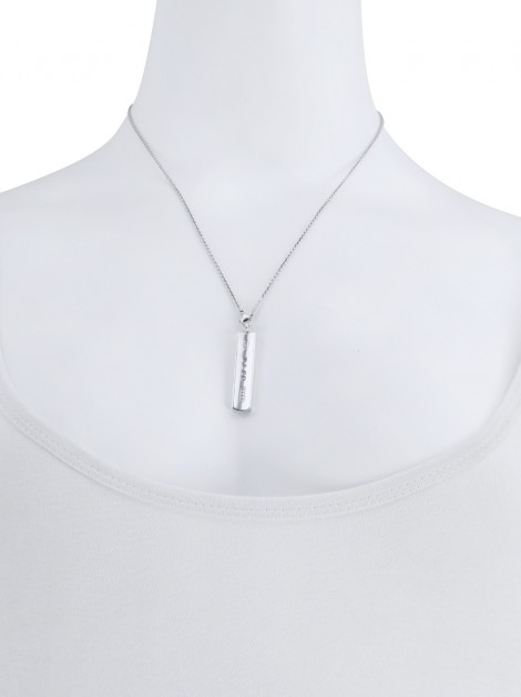 Colar Tiffany & Co. Pendente Barra Prata