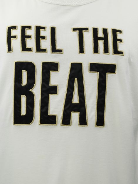 Camiseta D&G Feel The Beat Branca Masculina