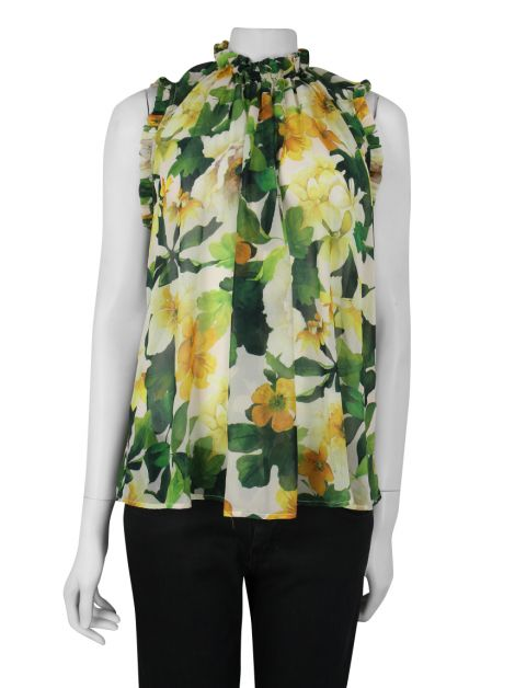 Blusa Lenny Niemeyer Regata Estampada