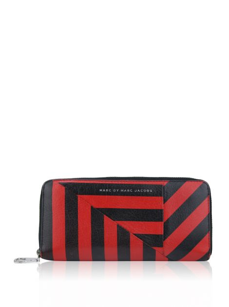 Carteira Marc by Marc Jacobs Couro Bicolor