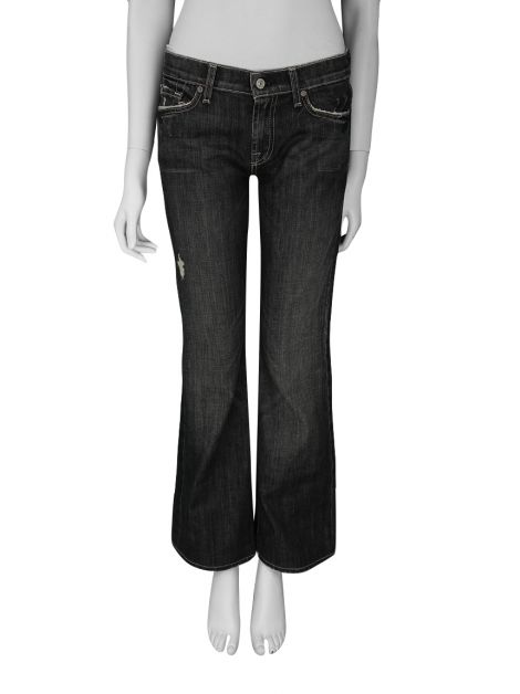 Calça Seven For All Mankind Grafite Bootcut Jeans