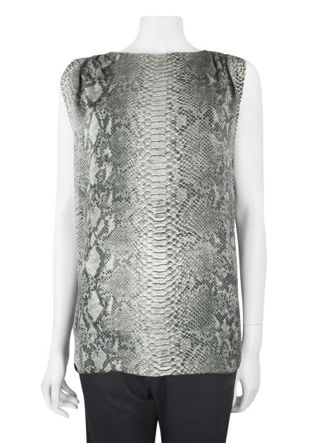 Blusa Stella McCartney Seda Estampada