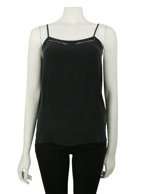 Blusa Equipment Seda Preto