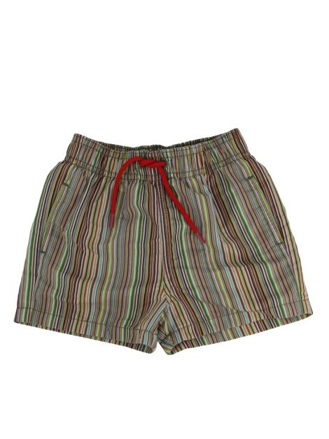Shorts Paul Smith Baby Listrado Infantil